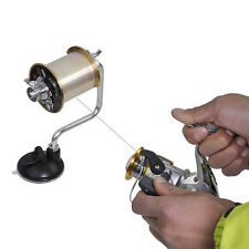 Spooler Line Winder Spool Holder Fishing Reel Line Portable Spooling Station New