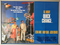 Cinema Poster: QUICK CHANGE 1991 (Quad) Bill Murray Geena Davis Randy Quaid
