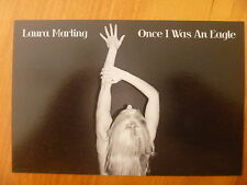 POSTCARD...LAURA MARLING...ONCE I WAS AN EAGLE..SEXY / STRIKING POSE..PROMO CARD
