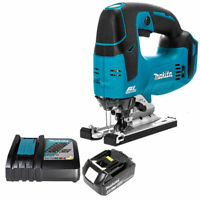 Makita DJV182Z 18V LXT Brushless Jigsaw With 1 x BL1840 4.0Ah Battery & Charger