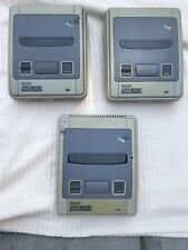 Snes console only All Faulty X3 Super Nintendo