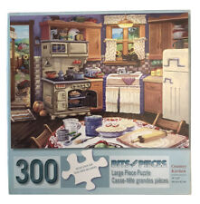 Complete Bits and Pieces Country Kitchen 300 Large Piece Puzzle Joseph Burgess