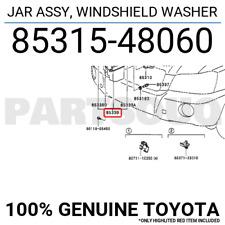 8531548060 Genuine Toyota JAR ASSY, WINDSHIELD WASHER 85315-48060