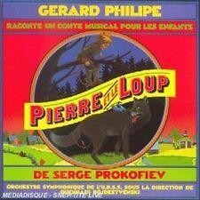 Pierre et le Loup  by G'rard Philipe CD  Music Audio Children's Music