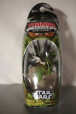 Star Wars 2006 Titanium Series Dewback With Stormtrooper New Action Figure