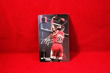 Rare 1998 Michael Jordan Dunk World Com PhonePass Card