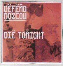 (AY188) Defend Moscow, Die Tonight - DJ CD