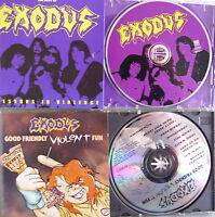 Exodus- Lessons in Violence (Best of)/ Good Friendly Violent Fun- 2 CDs