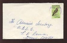 BOTSWANA 1970 BIRD 3c COMMERCIAL COVER TATITOWN LESOTHO