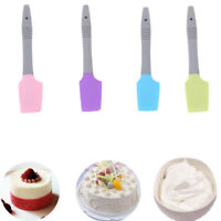 Home Cakes Silicone Small Spatula Spoon Cookie Spatulas Pastry Baking Tools MA