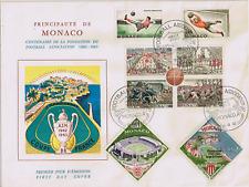 MOANCO Enveloppe 1er jour 1963 centenaire du football