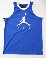 Nike Jordan Jumpmen Air Mesh Jersey Tank Size M Blue
