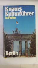 Knaurs Kulturführer in Farbe - Berlin (German) Hardcover 1987
