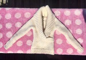 "Tyler Wentworth Cream knit Long Sleeve Sweater Sybarites AvantGuard 16"" Doll"
