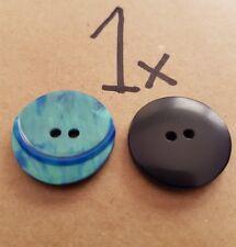 Fashion Button Size: 23mm Colour: Navy Blue
