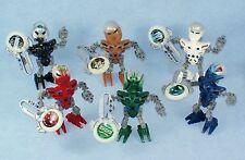 Lego Bionicle METRU NUI MATORAN (8607 ~ 8612) with Glow in the Dark KANOKA DISKS