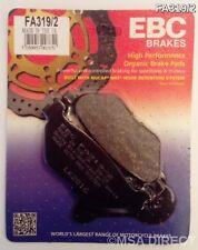 Yamaha FJR1300 (2001 to 2014) EBC Organic REAR Disc Brake Pads (FA319/2) (1 Set)