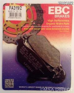 EBC Organic REAR Disc Brake Pads (1 Set) Fits YAMAHA TDM900 (2002 to 2014)