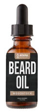 Woodstock Scented Beard Oil Growth Elixir - All Natural & Organic