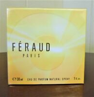 FERAUD LOUIS FERAUD PARIS 1.0 OZ/ 30 ML EDP SPY PERFUME WOMEN FEMME DISCONTINUED