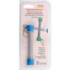 Lansky Crock Stick Spyder Sharpener Made For Spyderco Knives LTRSP