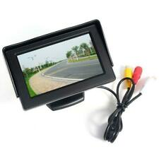 4.3in LCD Monitor Car Camera Rear View Backup Parking Reverse Night Vision B4