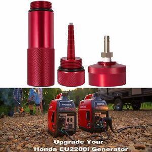 Extended Run Gas Cap Hose Oil Funnel Dipstick Kit for Honda Generator EU2200i