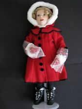 "Danbury Mint Shirley Temple ""Little Caroler� Doll"