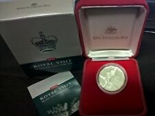 2000 FIFTY CENT - *SILVER PROOF COIN*  *ROYAL VISIT*  *ELIZABETH II*