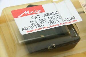 Metz #5450 SCA305A TTL multi-connector adapter NOS 392171
