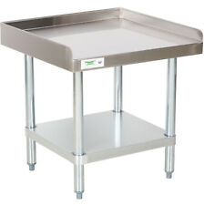 """24"""" x 24"""" Stainless Steel Table Commercial Heavy Equipment Mixer Grill Stand Nsf"""