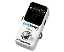TC Electronic PolyTune Mini 2 Electric Guitar Tuning Pedal PROAUDIOSTAR--