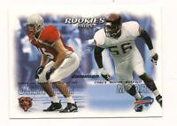 2000 Skybox Dominion Rookie HOF Brian Urlacher Chicago Bears #242