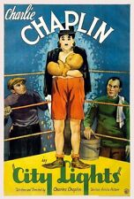 City Lights starring Charlie Chaplin 1931 Movie Print Picture A4 reproduction