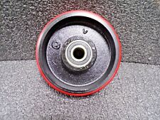 "6"" x 2"" Rigid Caster Polyurethane Wheel"