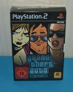 Grand Theft Auto Trilogy San Andreas Vice City GTA 3 PS2 Playstation 2 DE/EN