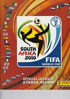 COMPLETE ALBUM FIFA WORLD CUP SOUTH AFRICA 2010 PANINI