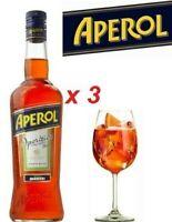 APEROL 1 LITRO x 3 BOTTIGLIE SPRITZ SODA Drink Aperitivo Apericena Barbieri NEW