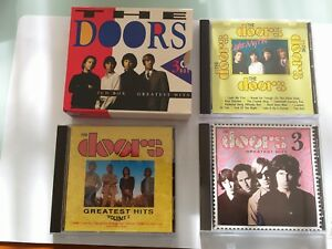 THE DOORS.3 CD BOX.GREATEST HITS.IN A OUTER BOX.