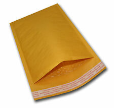 """500 #000 4x8 Kraft Bubble Mailers Mailing Padded Envelopes Bags KNJ 4""""x8"""""""