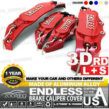 Aluminum alloy 4 pcs Red 3D ENDLESS Style Universal Brake Caliper Cover L+S LW04