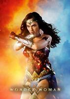 WONDER WOMAN MOVIE POSTER DC Wall Art Photo Pic Poster A3 A4