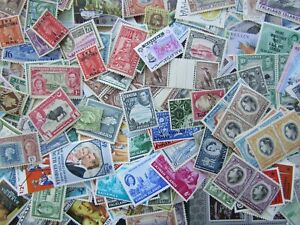 BRITISH EMPIRE - FINE MINT COLLECTION OF VINTAGE ISSUES IN OLD FILE - 1000+