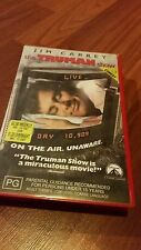 THE TRUMAN SHOW , JIM CARREY-  VHS VIDEO