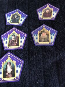 harry potter chocolate frog cards 11 Card Set
