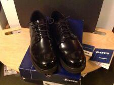BATES Black High Gloss Oxford 10.5 W E22141 NEW