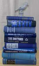 1937 ~ Vintage & Antique MIXED BLUE ~   Decorative Book Lot ~  Instant Library