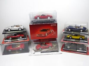 KAS11 LOT de 9 voitures FERRARI 1/43 Collection cassés broken models rotos