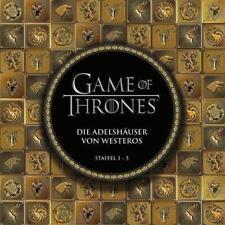 Game of Thrones: Die Adelshäuser von Westeros von Hermann Paul (2015, Kunststoffeinband)