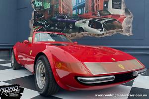 Ferrari Daytona Replica | Miami Vice | 1975' Corvette base | 350 Chev